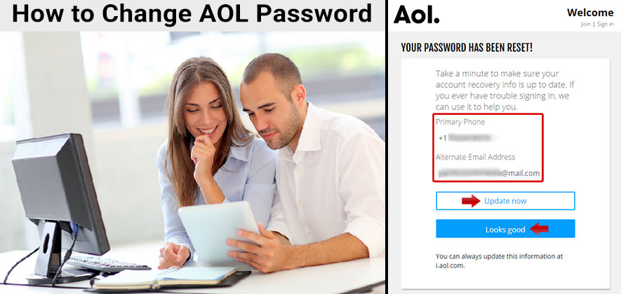 Aol Change Password