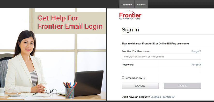 Frontier-Email-Login