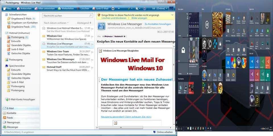 Mail windows windows10 live